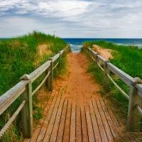 PEI Beach Boardwalk