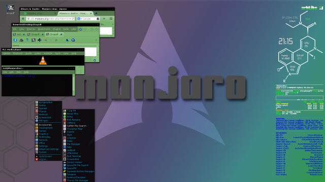 A little variation on the same Manjaro/Arch Openbo, Melina