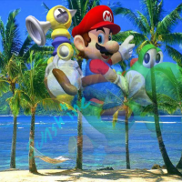 Super Mario Sunshine Panfancho Wallpaper
