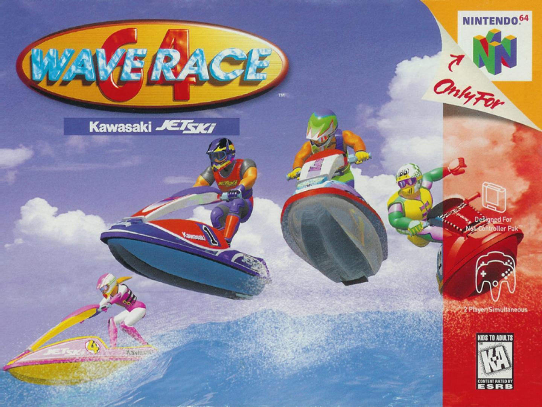 Wave Race Wallpaper 3