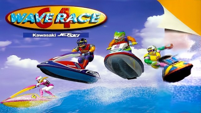 Wave Race Wallpaper 16
