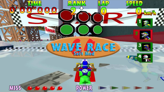 Wave Race Soft Mod Wallpaper