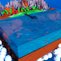 A piece Of ocean