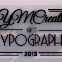 gift typography