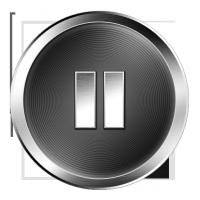 Music Icon Gray pause