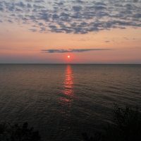 Sunrise Lake Superior, Paradise Michigan