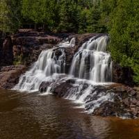 Gooseberry Falls   Upper Falls