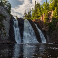 High Falls Of The Baptism River 1
