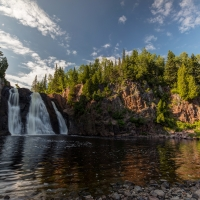High Falls Of The Baptism River 2