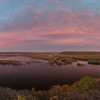 Mississippi River Sunset