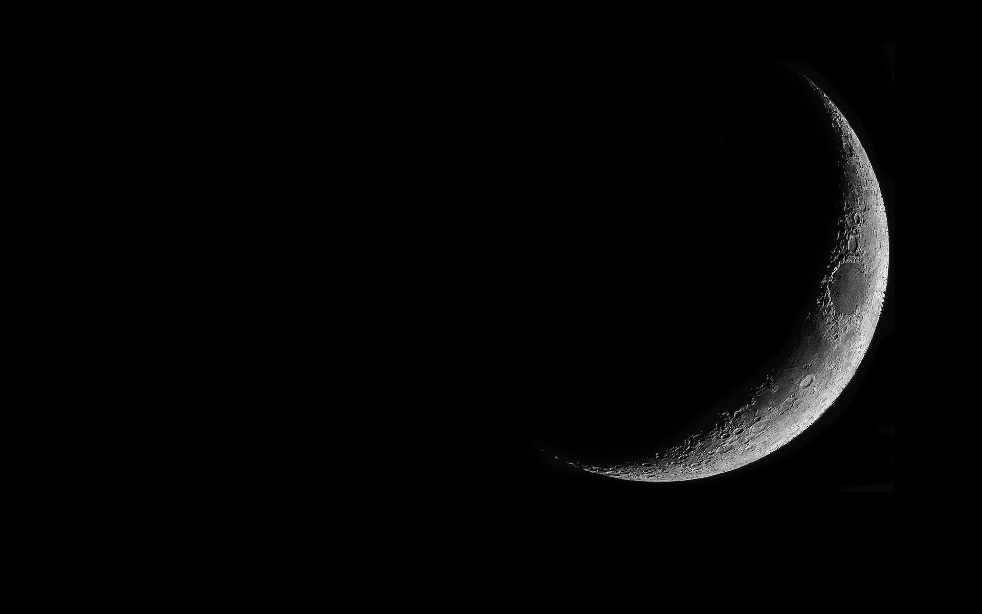 Crescent Moon Wallpaper 1920 X 1200