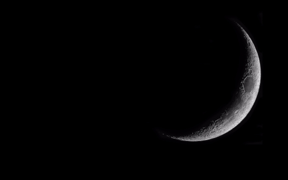 Crescent Moon Wallpaper 1920 X 1200