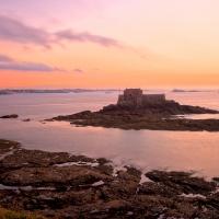 Saint-Malo Twilight Scenery - HDR