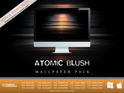 Atomic Blush HD Wallpaper