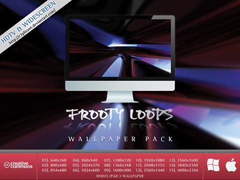 Frooty Loops HD Wallpaper