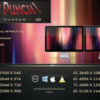 Fruity Punch Dual Screen HD 16:9 x 2.