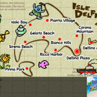 Super Mario Sunshine Map Wallpaper