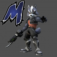 Project M Space Pirate Wolf Wallpaper