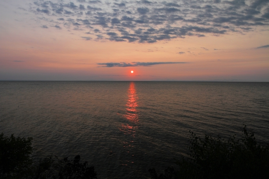 Sunrise Lake Superior, Paradise Michigan