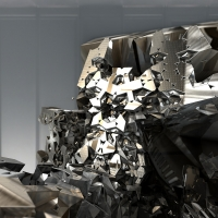 glassy2~goes metal