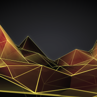 Low Poly abstract wallpaper