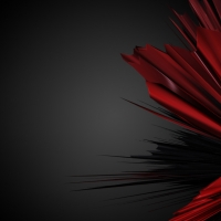 Red Abstract Wallpaper 2