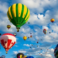 Air balloons XX by Nicolas Raymond