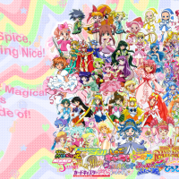 Magical Girl Wallpaper