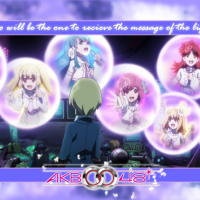 AKB0048 wallpaper Message of Light