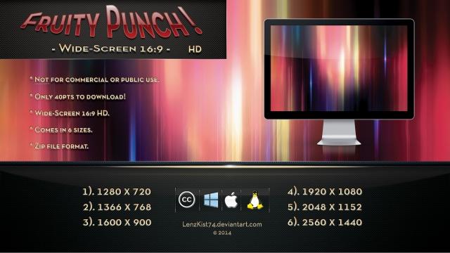 Fruity Punch HD Wallpaper